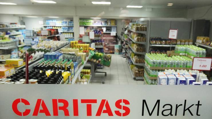 Der Oltner Caritasmarkt in der Winkelunterführung wurde im Frühjahr 2009 eröffnet.