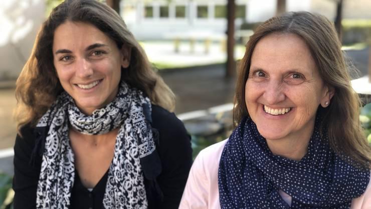 Doris Angehrn (links) und Barbara Pfeiffer dürfen wieder Sitzungen durchführen.