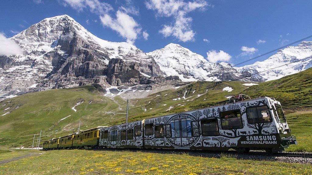 Zusammenarbeit über die Grenze: Die Jungfraubahnen spannen bei der Werbung mit dem österreichischen Skigebiet Sölden zusammen. (Archivbild)