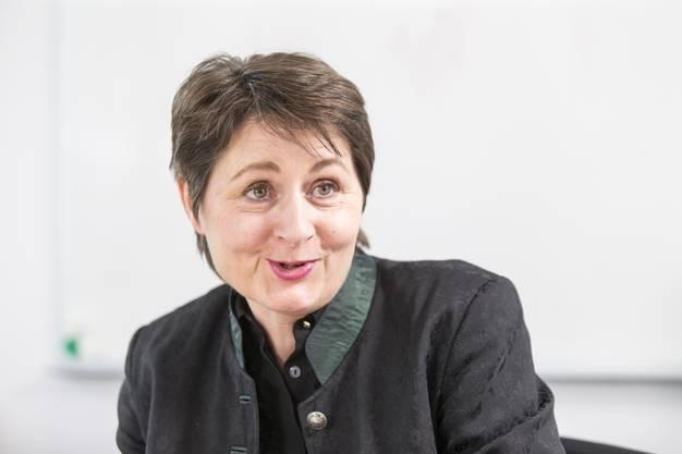 Franktionserklärung: Regierungsrätin Franziska Roth geriet erneut in Kritik.
