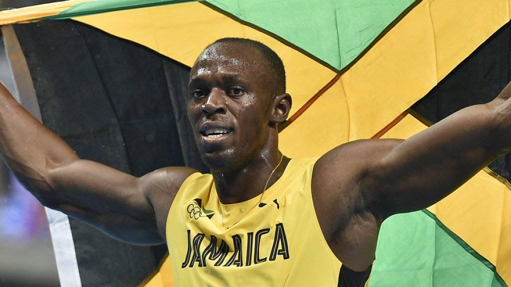 Bolt startet am Diamond-League-Meeting in Monaco