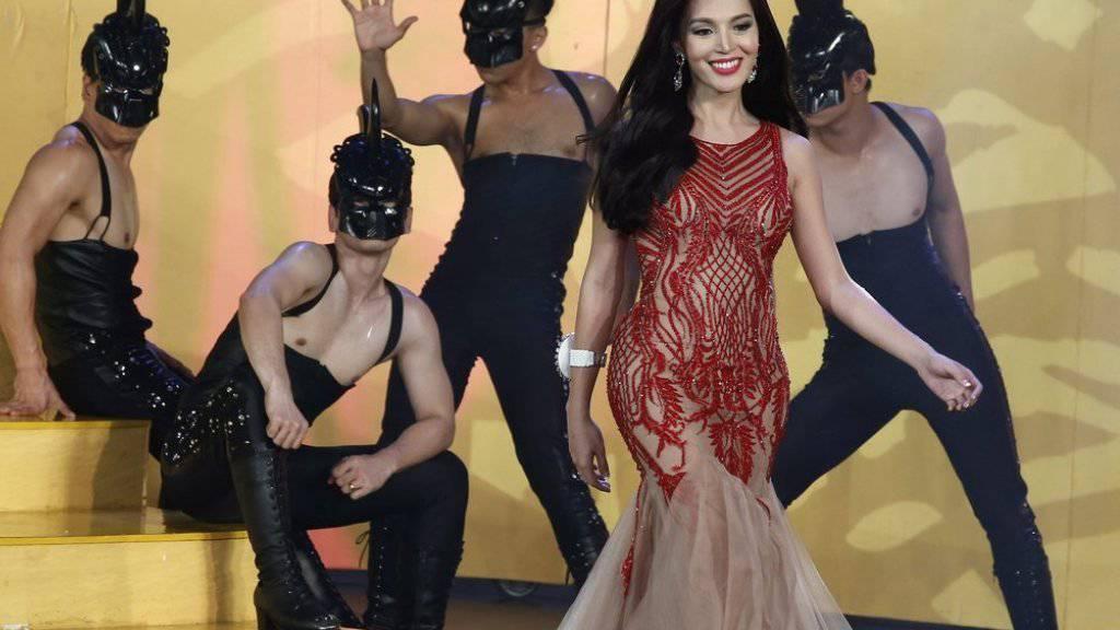 Trixie Maristela von den Philippinen ist die schönste Transgender-Frau des Jahres.