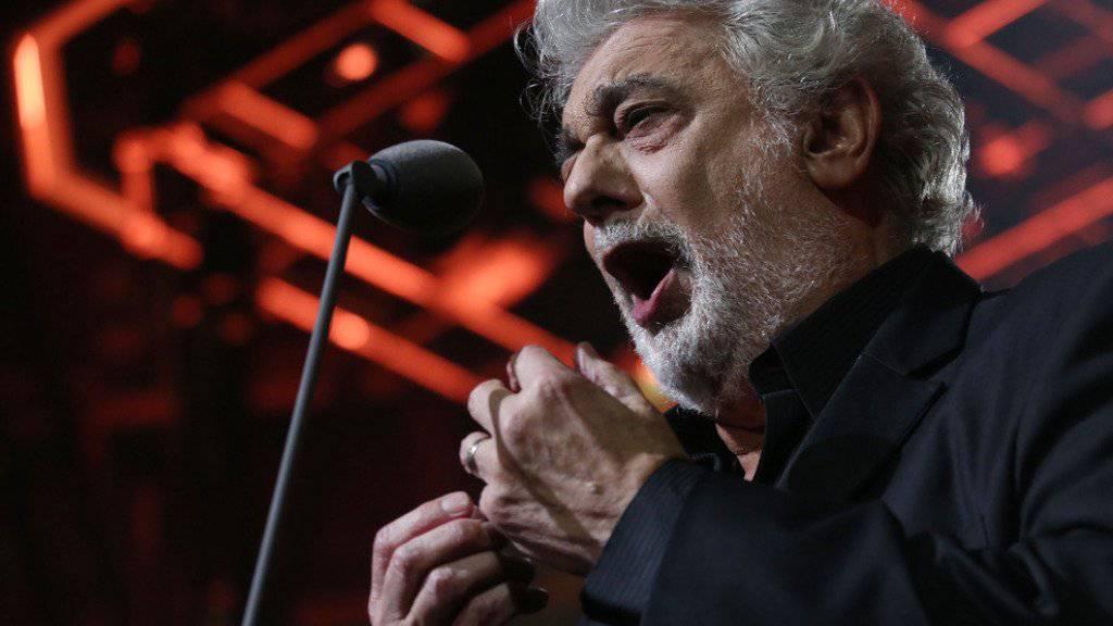 Plácido Domingo muss eine Zwangspause einlegen: In der kommenden Woche wird seine Gallenblase entfernt (Archiv).