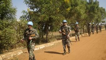 Den UNO-Blauhelmen wird vorgeworfen, bei Vergewaltigungen im Südsudan untätig geblieben zu sein. Dies wird nun genauer überprüft. (Symbolbild)