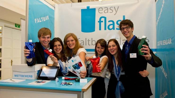 von links: Mario Anderhub, Laura Lüthi, Davina Malfent, Rahel Abgottspon, Dominique Bitschnau, Julian Nacken(abwesend: Michael Stirnimann)
