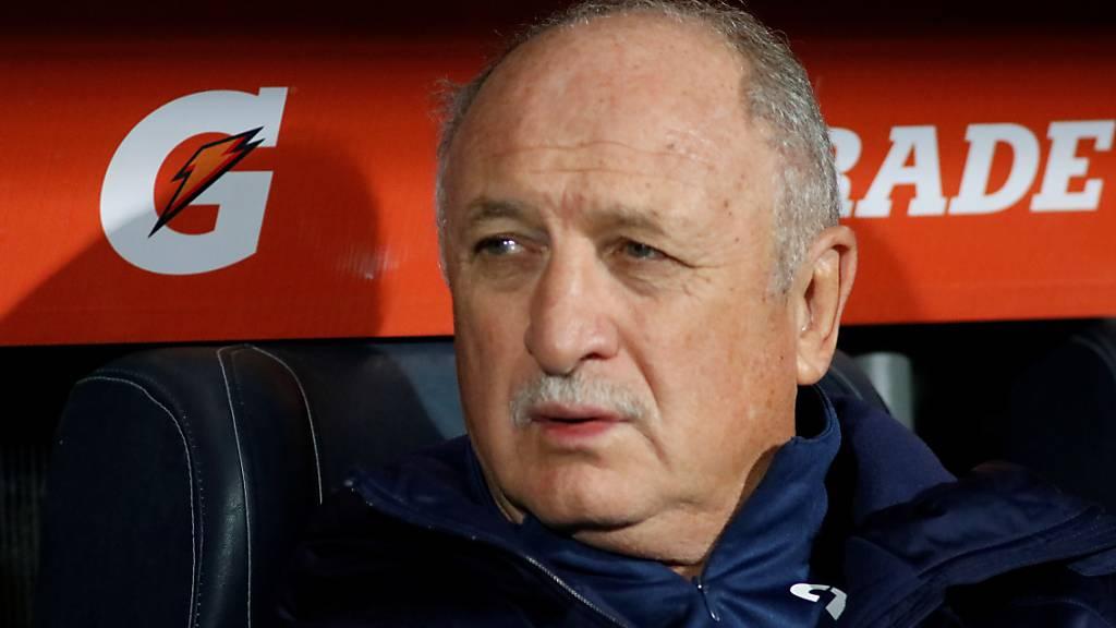 Luiz Felipe Scolari kam mit Palmeiras in dieser Saison nicht mehr auf Touren