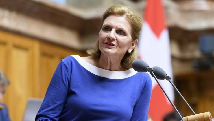 Die Zürcher FDP-Nationalrätin Doris Fiala will keinen komplette Legalisierung, aber erhofft sich eine Diskussion.