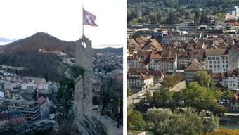 Baden ist in der Top 10. Aarau liegt dahinter.