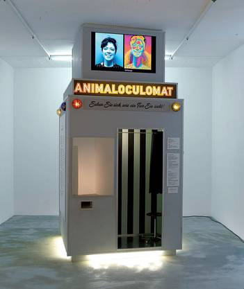 Animaloculomat by Klara Hobza © Nick Ash. Courtesy Waldburger Wouters, Basel und Brüssel