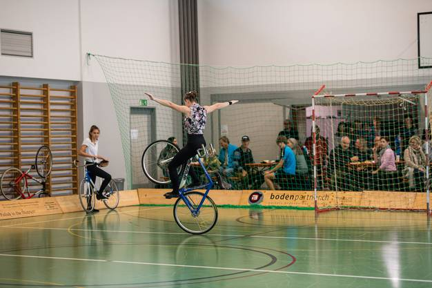 Kunstrad-Show, 100 Jahre Radclub ATB in Grenchen