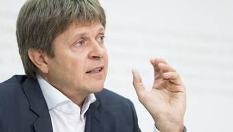 Will mit der GLP bei den nächsten eidgenössischen Wahlen die Fünf-Prozent-Hürde wieder übertreffen: Jürg Grossen, ab morgen neuer Präsident.