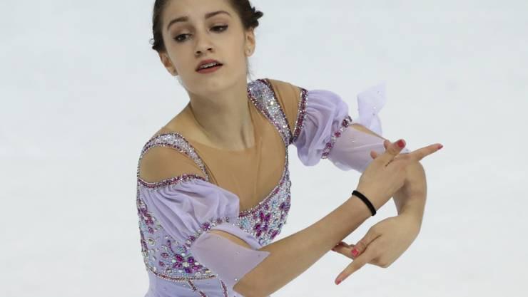 Alexia Paganini will auch in Moskau brillieren