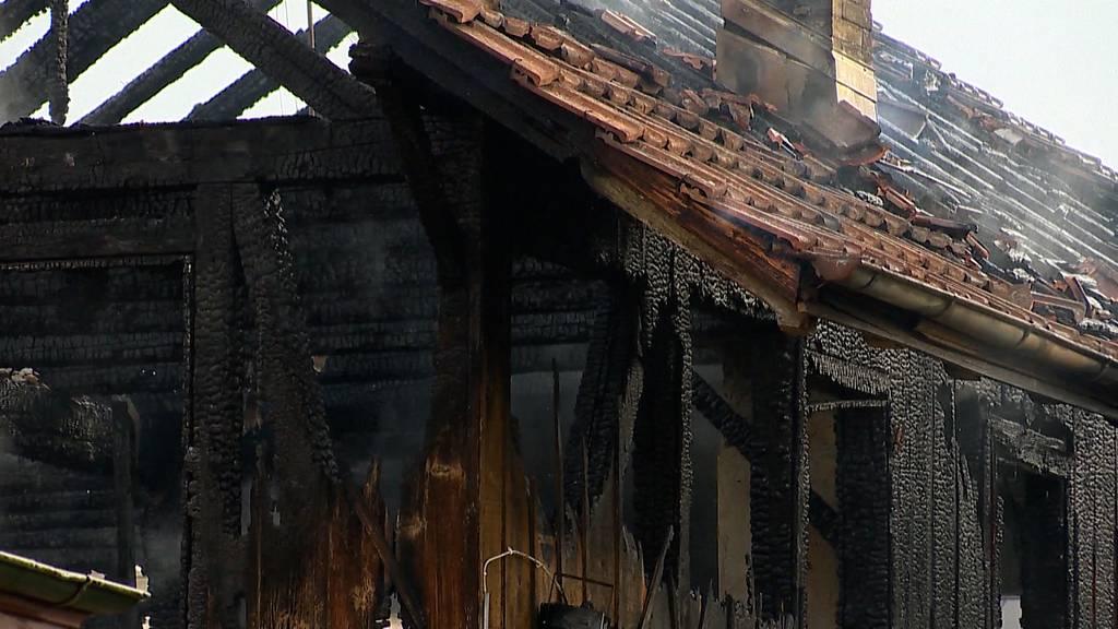 Brand zerstört Hanf-Shop in Uster