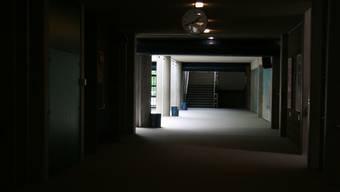 Dunkle Wände und veraltete Beleuchtung stimmen das OSOS düster (Archiv)