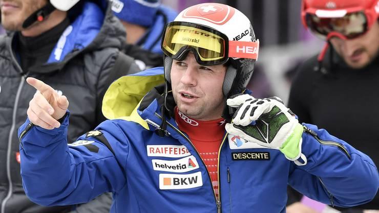 Beat Feuz freut sich auf die Heim-WM und sagt: «Ich reise mit positiver Energie nach St. Moritz.»