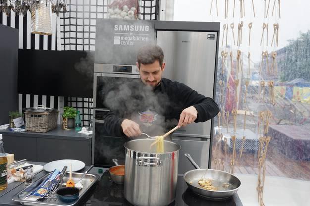 Dominik Widmer am Chuchi-Battle 2017