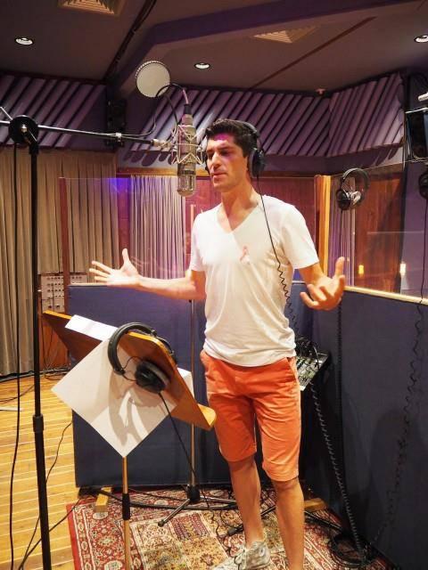 Franco Marvulli im Studio (© zVg)