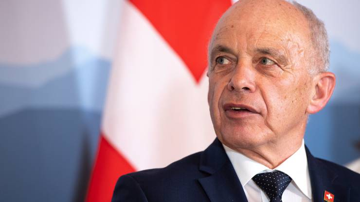 Bundespräsident Ueli Maurer. (KEYSTONE/Anthony Anex)