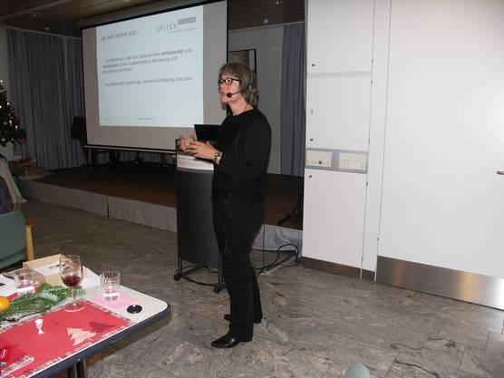Vortrag von M. Pulfer, Spitex Regio Liestal