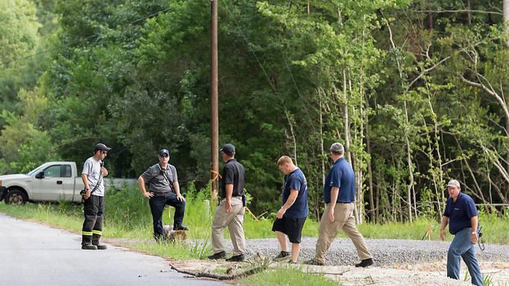 Suche nach den Trümmern in South Carolina: Flugzeugteile nach Kollision über zwölf Kilometer weit verteilt.