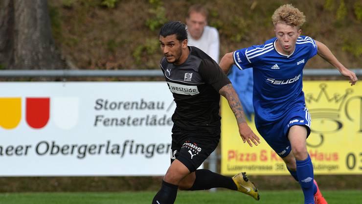 Patrick Riesen (r.) wechselte im Winter vom FC Subingen zum FC Solothurn.