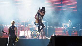 Guns'N'Roses hätte im Juni im Stade de Suisse in Bern rocken sollen. Jetzt ist das Konzert auf unbestimmte Zeit verschoben worden.