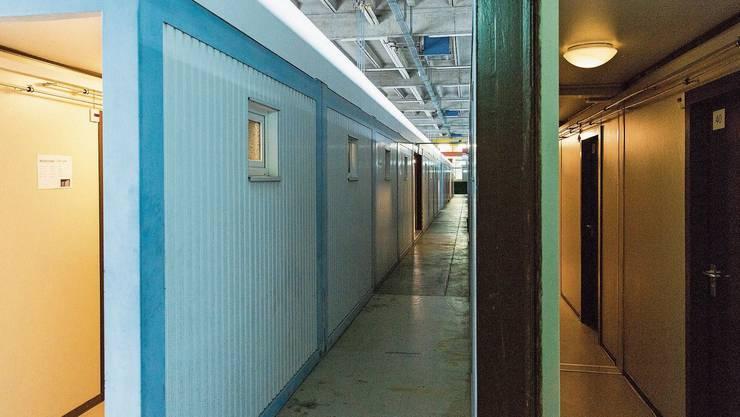 Drei Jahre lang lebten die Asylsuchenden im «Container-Dörfli» im ehemaligen A3-Werkhof.