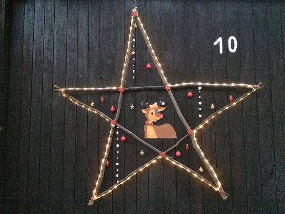 Stern an der Kriegstettenstrasse 8 in Obergerlafingen