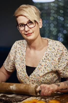 """Sophie Scaramuzza betreibt als """"LalaSophie"""" erfolgreich einen Back-Blog. Sie ist auch Mitgruenderin des """"Ohne""""-Ladens in Baden."""