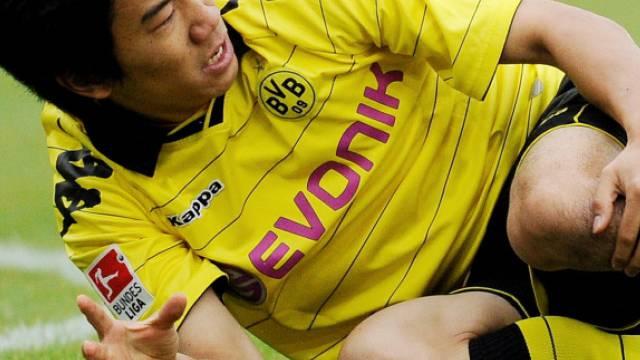 Shinji Kagawa fällt mit einem Mittelfuss-Bruch längere Zeit aus