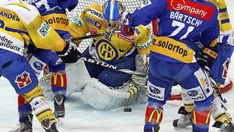 HCD-Goalie Leonardo Genoni liess nur einen Gegentreffer zu