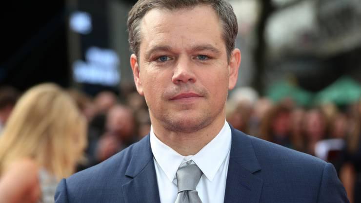 Lässt sich nicht unterkriegen: Trotz Krieg und Krisen will sich US-Schauspieler Matt Damon den Glauben an das Gute im Menschen nicht nehmen lassen. (Archivbild)