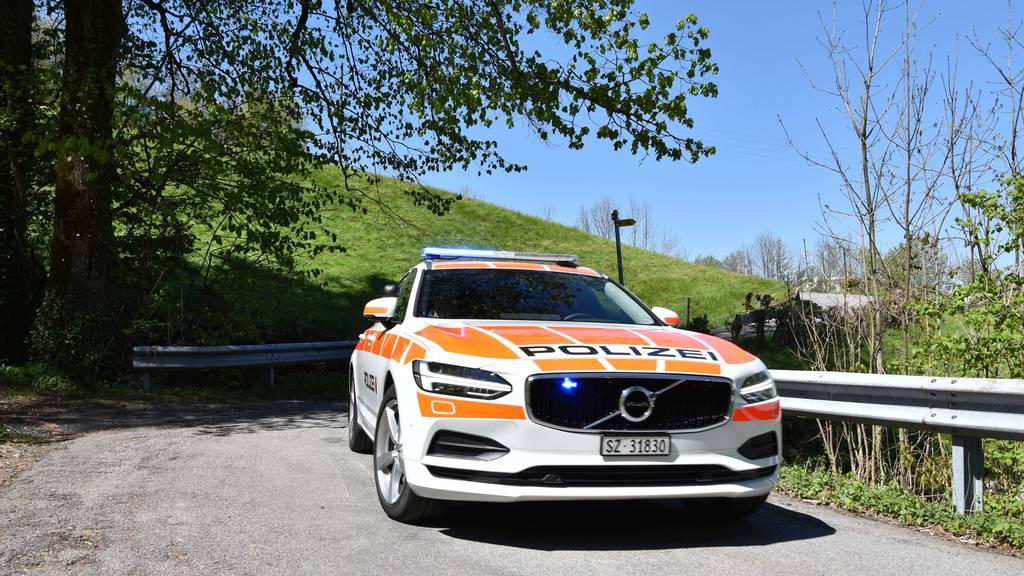 Rollerfahrer in Goldau mit Auto kollidiert
