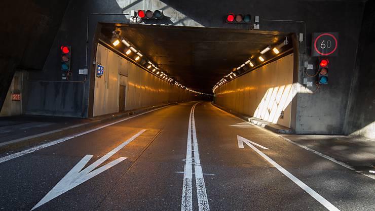 Nach dem Abebben des Rückreiseverkehrs am verlängerten Auffahrtswochenende gibt es keinen Stau mehr am Gotthardtunnel. (Archivbild)