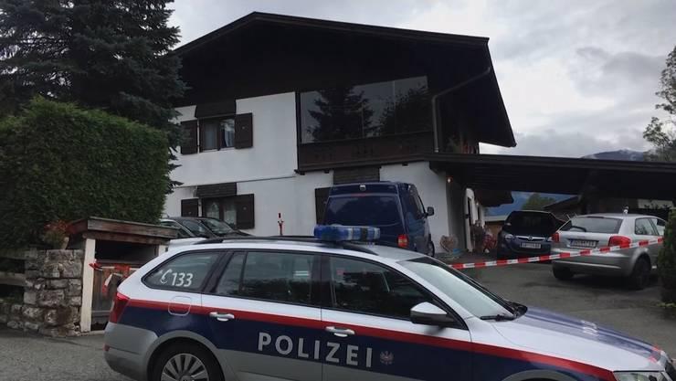 In diesem Haus tötete der Mann fünf Menschen.