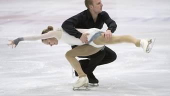 Gehen getrennte Wege: die Schweizer Eiskunstläufer Ioulia Chtchetinina und Noah Scherer