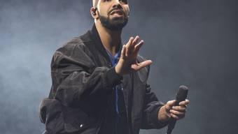 """Neuer Rekord: Der Song """"One Dance"""" des kanadischen Rappers Drake wurde auf Spotify über eine Milliarde Mal abgespielt. (Archivbild)"""