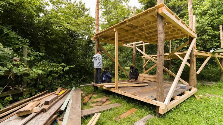 Super Sind Kinder zu verweichlicht, um Hütten zu bauen? - Baselland FL68
