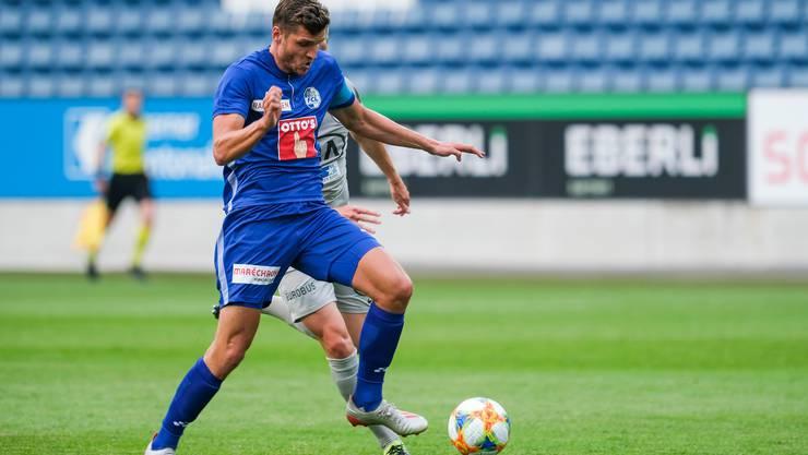 Pascal Schürpf ist neuer Captain des FC Luzern.