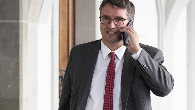 Einer der schärfsten Kritiker von Ignazio Cassis: SP-Präsident Christian Levrat.