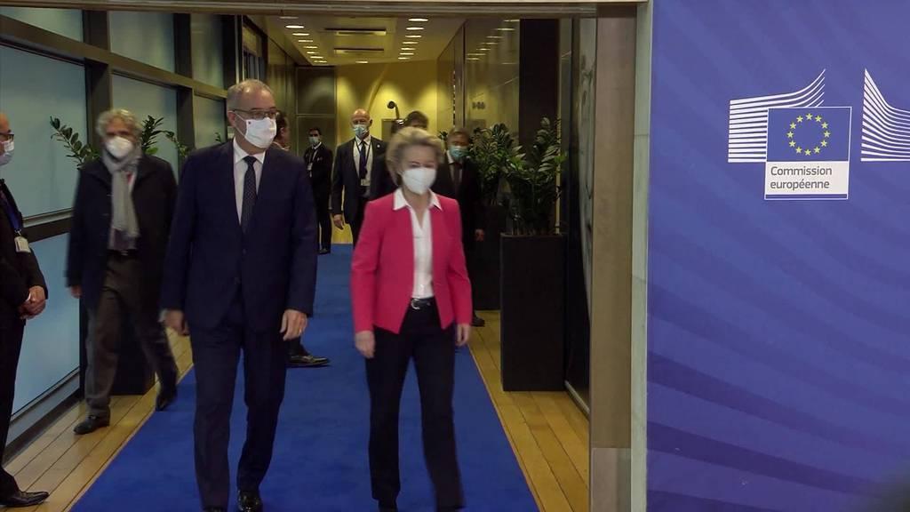 Rahmenabkommen: Keine Einigkeit bei Verhandlungen mit der EU