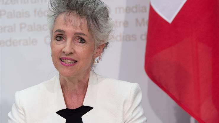 Die Zürcher Volkswirtschaftsdirektorin Carmen Walker