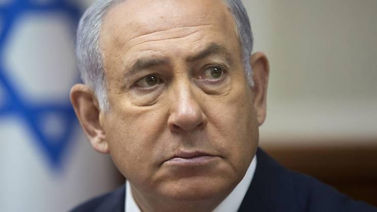 Im April soll es in Israel vorgezogene Parlamentswahlen geben. Hintergrund der Entscheidung sind Spannungen innerhalb der rechts-religiösen Regierungskoalition von Ministerpräsident Benjamin Netanjahu. (Archivbild)