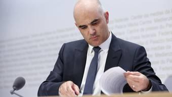 Alain Berset bekommt auf Anfang September einen neuen persönlichen Mitarbeiter. (Archivbild)
