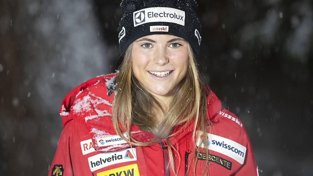 Delia Durrer gewann nach Gold in der Kombination auch den Schweizer Meistertitel in der Abfahrt