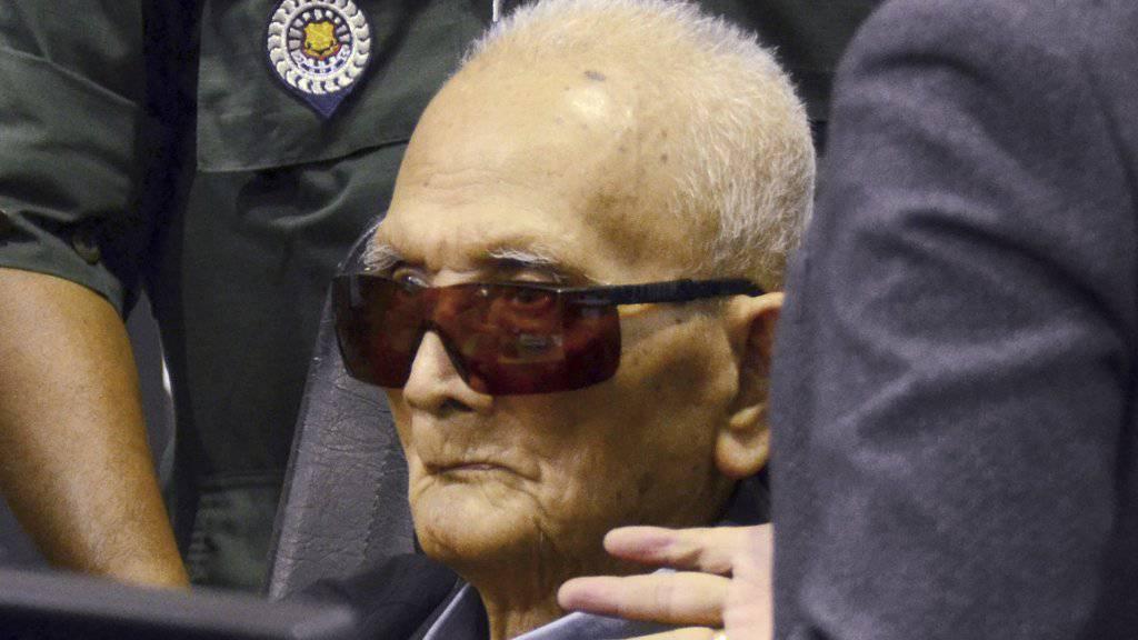 Gilt als einstiger Chefideologe des Rote-Khmer-Regimes: Nuon Chea.
