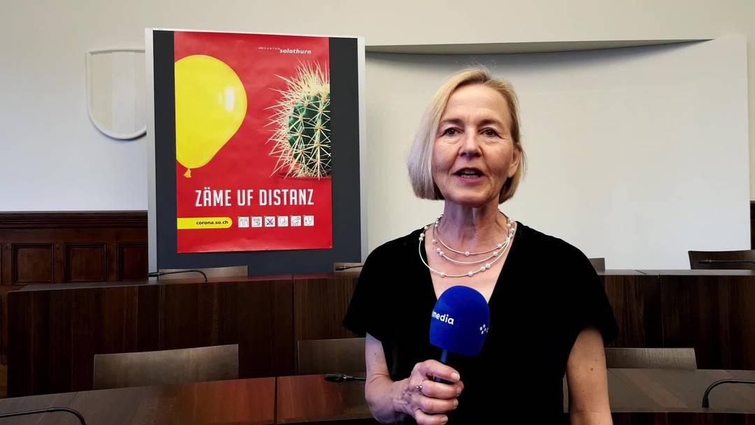 «Zäme uf Distanz»: Regierungsrätin Susanne Schaffner erklärt, warum es eine neue Corona-Kampagne braucht