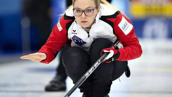 Die Nummer 4 Alina Pätz, Curlerin von Weltklasse-Format im Schweizer Team