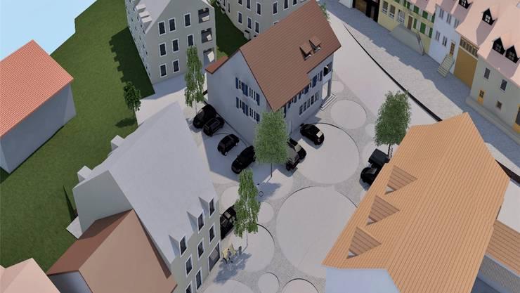 So soll das Mitteldorf einmal aussehen – Stand Juni 2016. Archiv/zvg