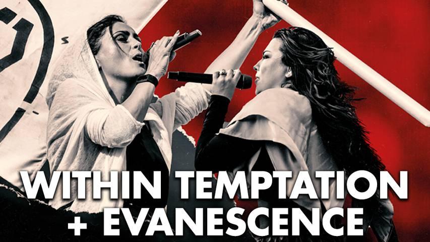Neues Datum: Within Temptation/ Evanescence!